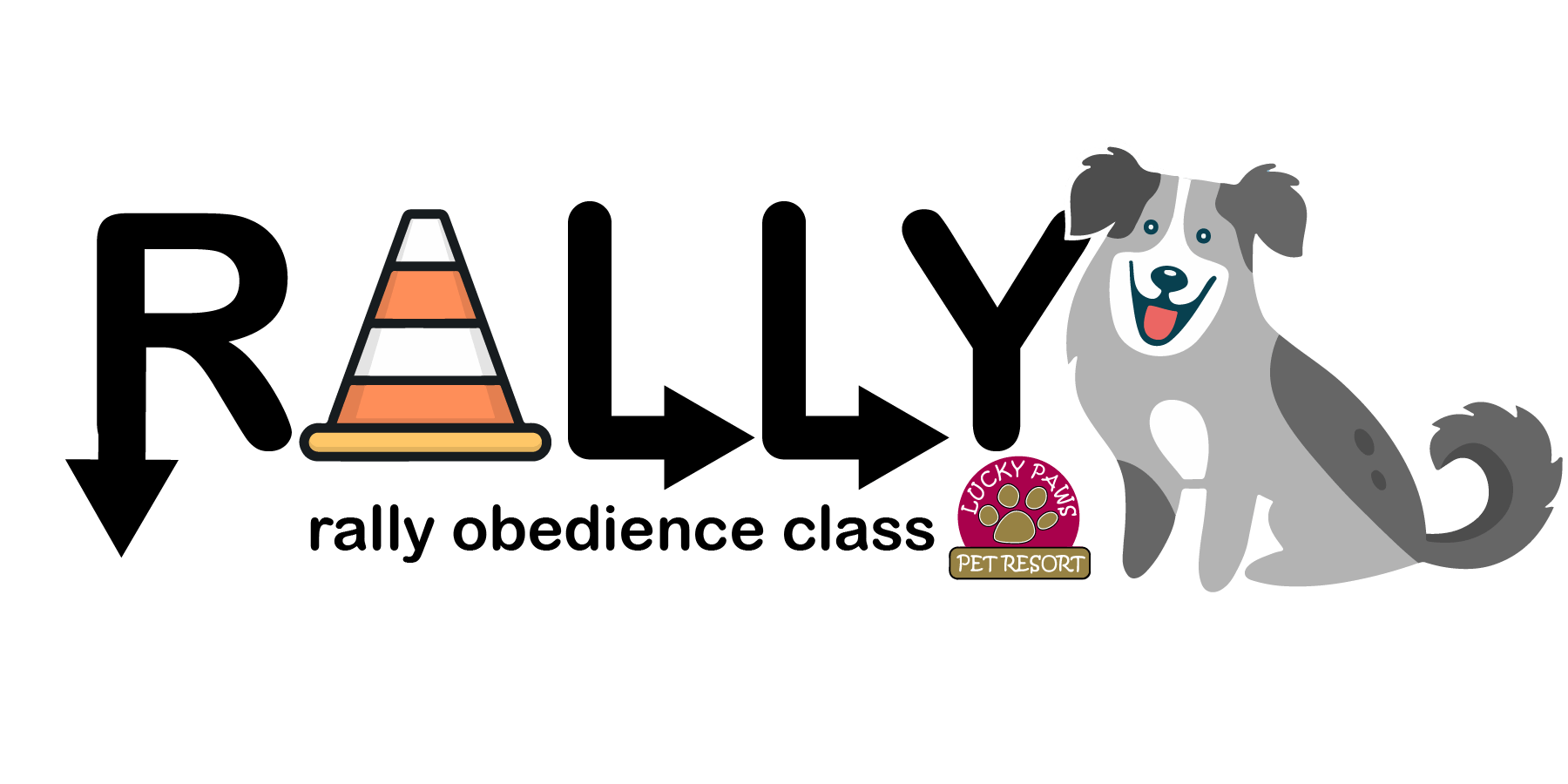 Rally Class at Lucky Paws